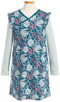 Tea Collection Monaka Wrap Neck Dress (Toddler , Little Girls, & Big Girls)