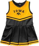 Colosseum Girls Infant Black Iowa Hawkeyes Pinky Cheer Dress