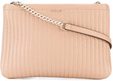 DKNY quilted crossbody bag - women - Leather - One Size