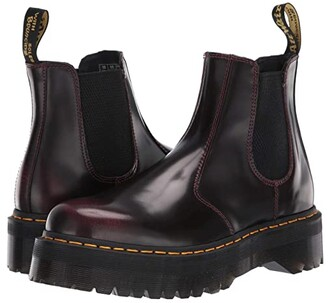 Dr. Martens 2976 Platform (Cherry Red Arcadia) Boots