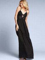 Victoria's Secret Eyelet-trim Maxi Dress