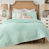 Coastal Living Sand Script Quilt Set