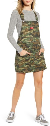 Dickies Camouflage Denim Overall Dress