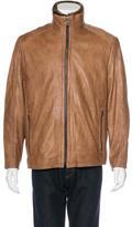 Andrew Marc Sawyer Fur-Lined Jacket