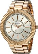 Kenneth Cole Reaction Women's 10021667 Street Analog Display Japanese Quartz Rose Gold Watch