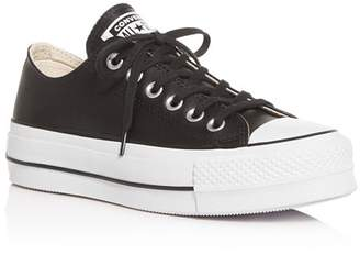 Converse Chuck Taylor All Star Lift Clean Low-Top Platform Sneakers
