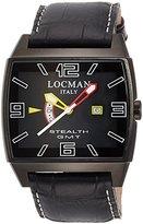 Locman Men's Watch 300BKBKFYLRPSK-LT