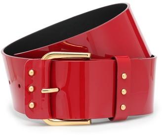 Saint Laurent Patent leather belt