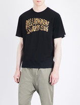 Billionaire Boys Club Leopard logo-print cotton-jersey T-shirt