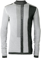 Rick Owens geometric print sweater - men - Cotton - M