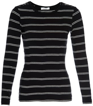 Frame Striped Long Sleeve T-Shirt