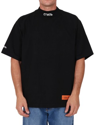 Heron Preston T-shirt Logo Black