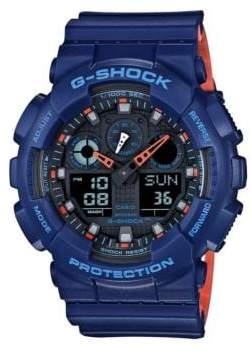G-Shock G Shock Shock Resistant Resin Ana-Digi Strap Watch