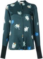 Roksanda printed collarless shirt - women - Silk - 8