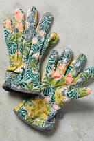 Anthropologie Floral Gardening Gloves