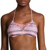 Arizona Mix & Match Bralette Swimsuit Top-Juniors