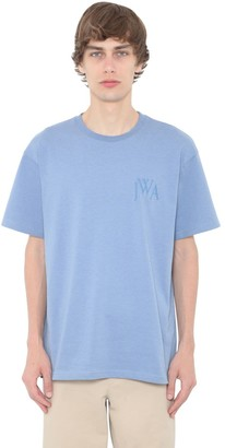 J.W.Anderson Logo Embroidery Cotton Jersey T-Shirt