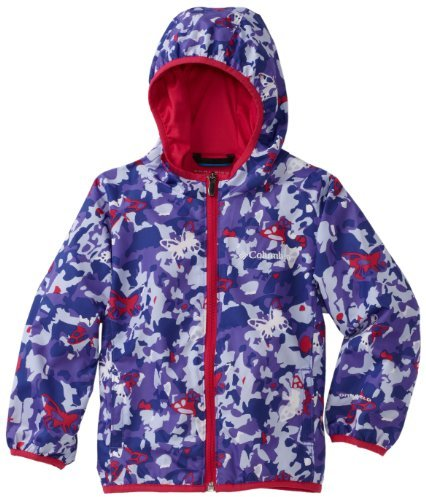 Columbia Girls 7-16 Pixel Grabber Wind Jacket