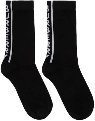 Burberry Black Logo Socks