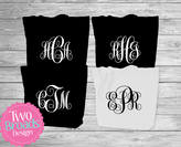 Etsy Zipper Totes, Bridesmaid Tote, Bridal Party Totes, Personalized tote bags, Monogrammed tote bags, Br