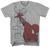 Spiderman Marvel Boys' T-Shirt - Heather Grey