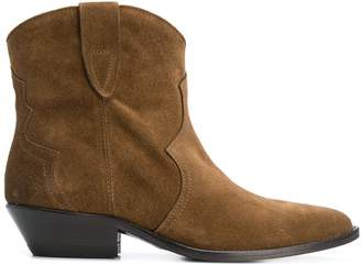The Seller pointed toe ankle boots
