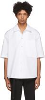 Wooyoungmi White SS Poplin Short Sleeve Shirt
