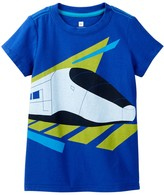 Tea Collection Carlos Train Graphic Tee (Big Boys)