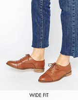 Asos MUSE Wide Fit Leather Lace Up Brogues