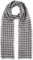 Isabel Marant Woody plaid wool scarf