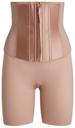 Spanx Under Sculpture Waist-Cincher High-Waisted Shorts