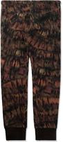 Paul Smith Tie-dye Print Wool-Blend Cuffed Trousers