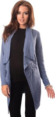 Purpless Maternity Pregnancy Nursing Knitted Jumper Cardigan Breastfeeding Women 9003 (16/18
