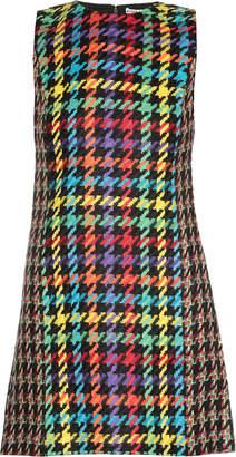 Alice + Olivia Multicolor Houndstooth Dress