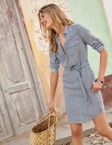 Boden Popover Shirt Dress