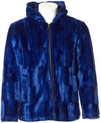 Supreme Blue Faux fur Jackets
