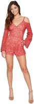 The Jetset Diaries Rava Lace Romper Women's Jumpsuit & Rompers One Piece