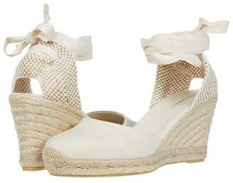 ALOHAS Clara By Day Platform Wedge Espadrille (Grey) Women's Shoes
