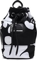 Marc Jacobs Logo-appliqued Floral-print Twill Shoulder Bag