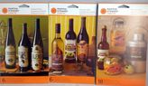 Martha Stewart Crafts Halloween Beverage Labels - Total 3 Packs (6+6+18 Labels)