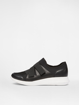 DKNY Tilly Scuba and Leather Sneaker
