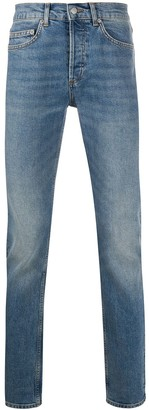 Sandro Paris High-Rise Slim Fit Jeans