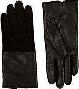 Rag & Bone Women's Division Leather Gloves-BLACK