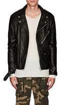 "Faith Connexion Men's thedrop@barneys: ""New York"" Oversized Leather Moto Jacket"