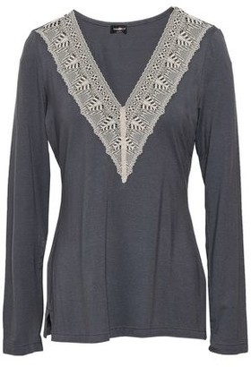Cosabella Lace-trimmed Modal-blend Jersey Pajama Top