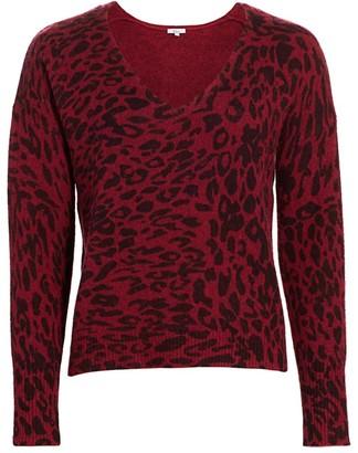 Rails Gracie Leopard-Print Sweater