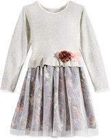 Bonnie Jean Layered-Look Dress, Toddler & Little Girls (2T-6X)