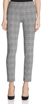 B Collection by Bobeau Kirsten Plaid Skinny Pants
