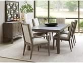Lexington Santana 7 Piece Extendable Dining Set Upholstery Color: Beige