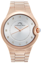 Emilia Rose Gold Tone Stainless Steel Watch, 40mm